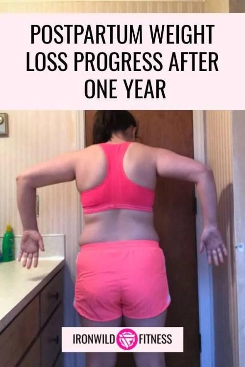 one year postpartum body update