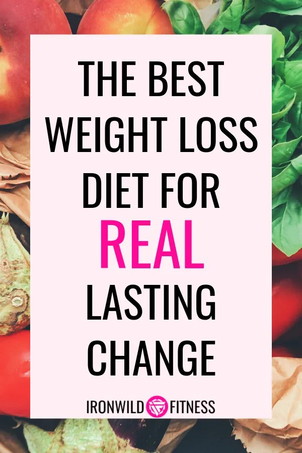 The best weight loss diet for lasting change.