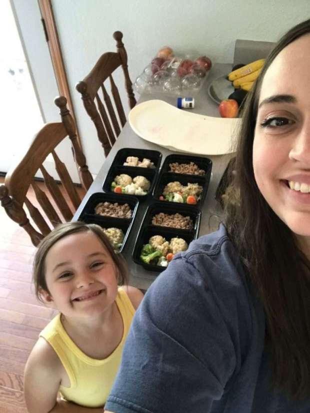 clean eating meal prep ground turkey