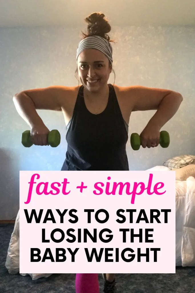 ways to start losing the baby weight
