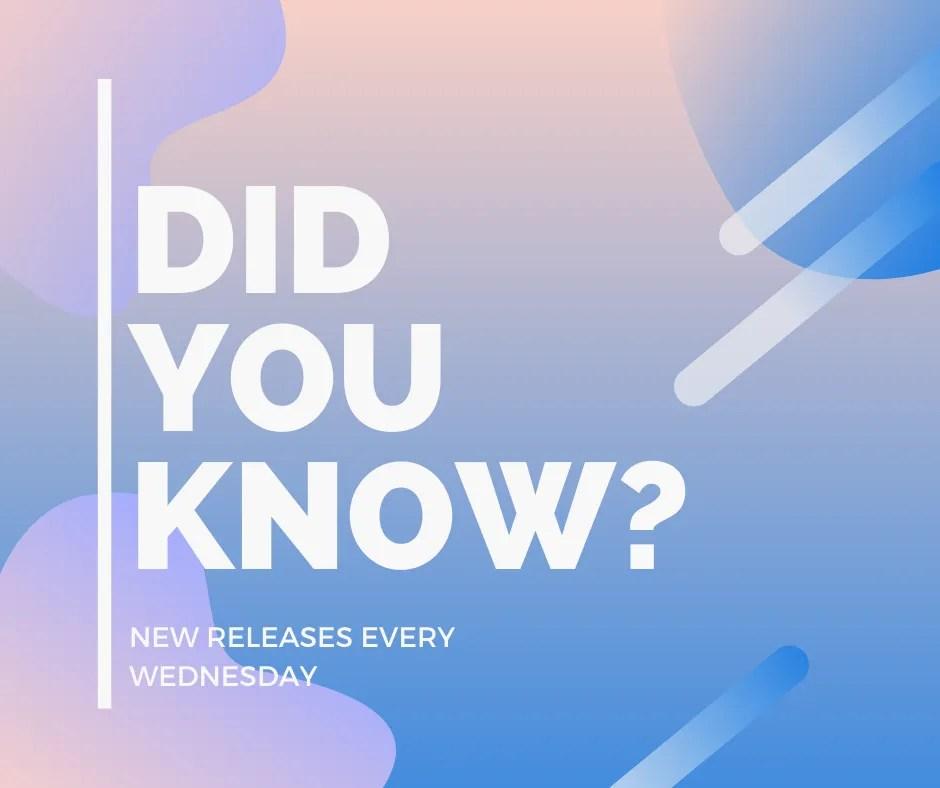 ZYIA new release Wednesdays