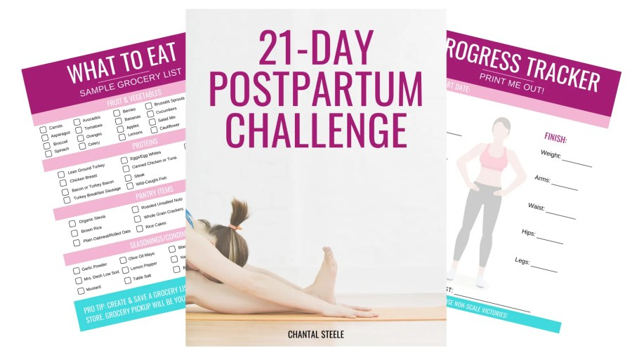 21 Day Postpartum Challenge