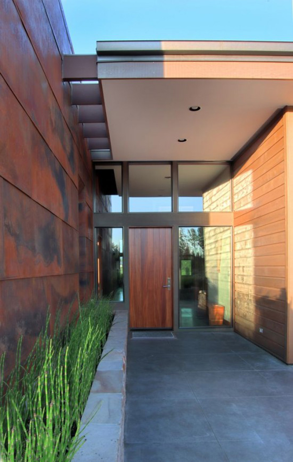 contemporary entrance door designs - Iroonie.com on Modern Entrance Design  id=32661