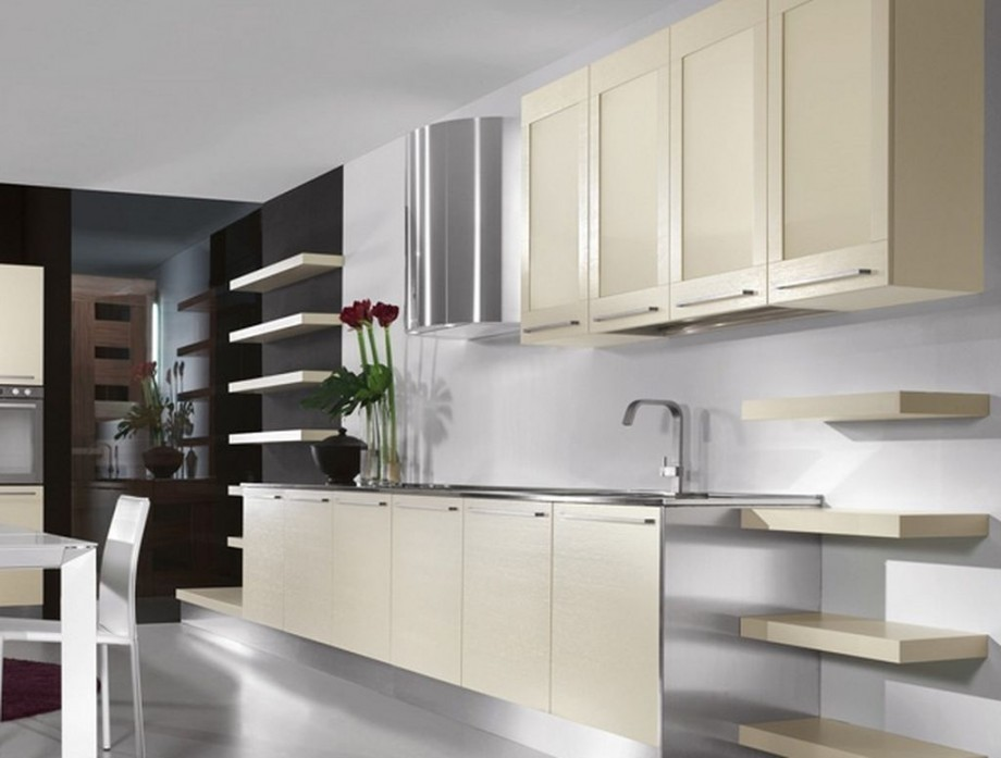 Functional And Aesthetic Kitchen Cabinet Designs19