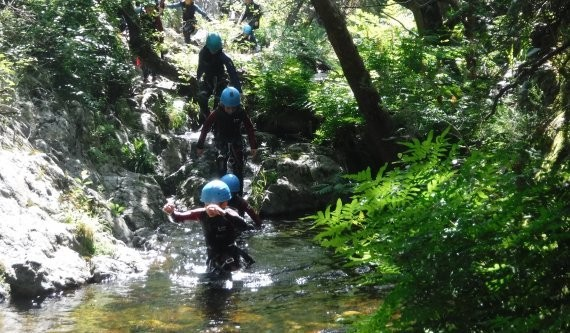 activité canyoning Pyrénées orientales