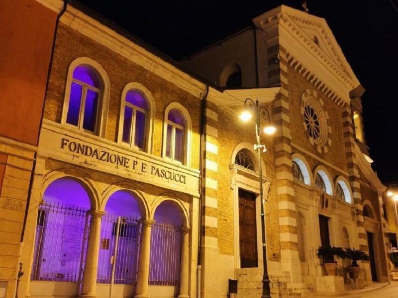 Pio stabilimento Fondazione P.E.Pascucci e Chiesa di S.Paolo-Dentecane,Frazione di Pietradefusi