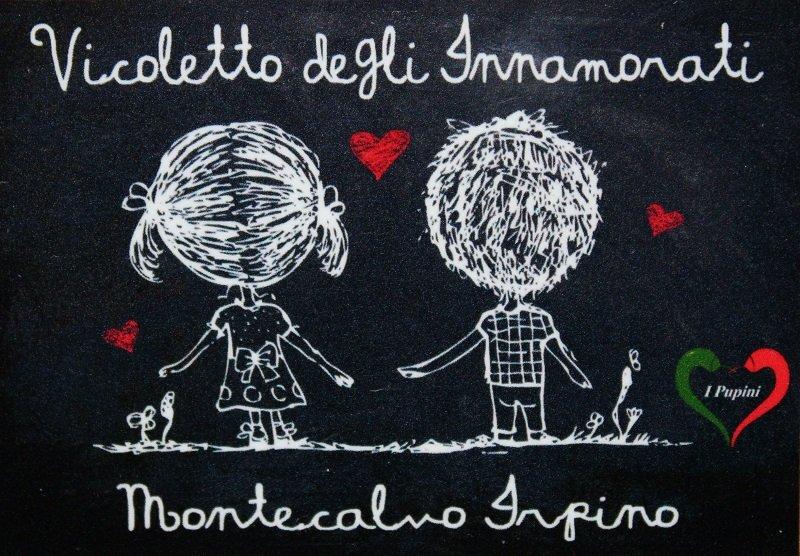 Vicoletto dell'amore - Montecalvo Irpino