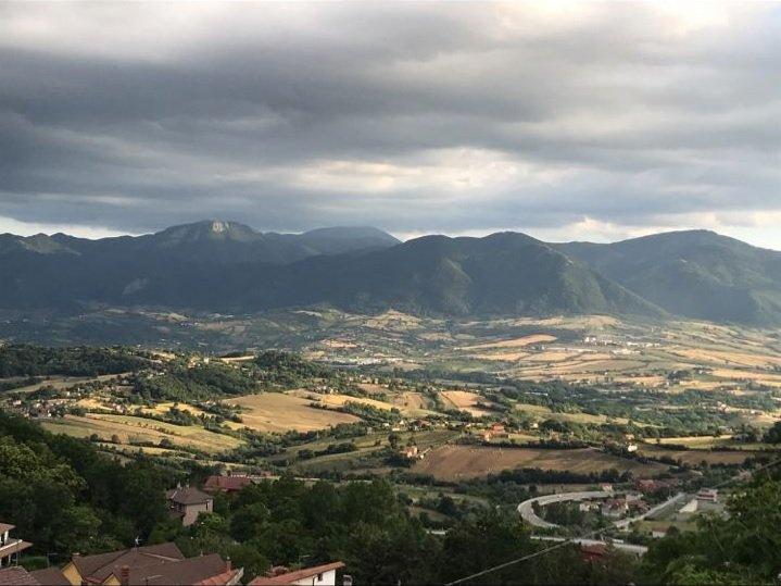 Vista di Sant'Angelo dei Lombardi