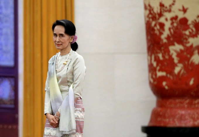 Foreign Minister Aung San Suu Kyi Visits Japan, Seeking Investment