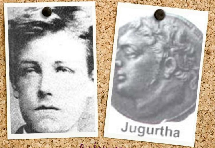 Arthur Rimbaud a dédié  75 vers latins à Jugurtha