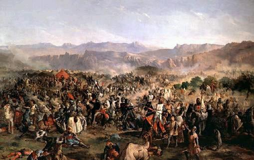 bataille berbere