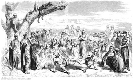 Tiqqar, ancienne tradition de jeu et combat en Kabylie.