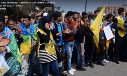 Marrakech : Une marche pour célébrer le printemps Amazigh