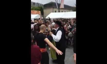Amazighs et bretons dansent. De beaux moments d'échanges.