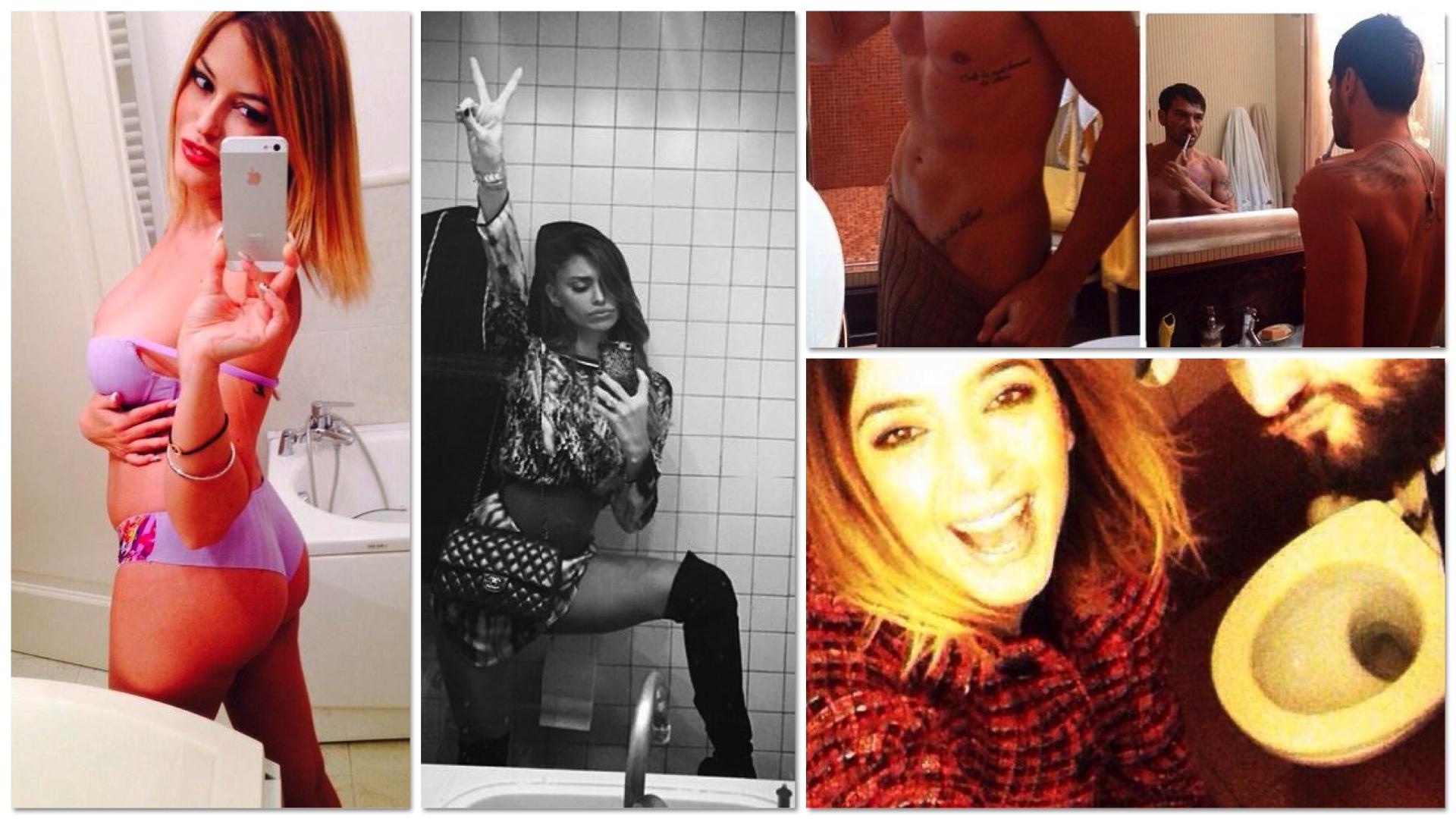Tutti pazzi per il wc i selfie dei vip si scattano in bagno la nuova moda fa c il web - Selfie in bagno ...