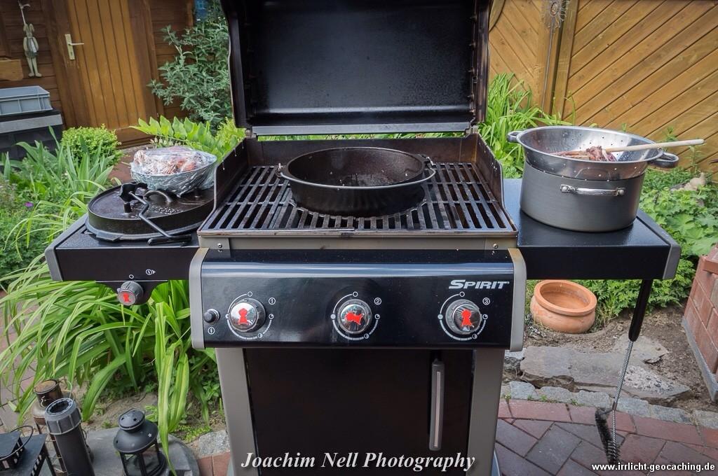 Pulled Pork Gasgrill Dutch Oven : Jambalaya aus dem dutch oven u2013 irrlicht´s blog