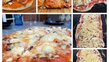 Pizzastein Für Gasgrill Napoleon : Pizza vom gasgrill mit dem pizzastein u2013 irrlicht´s blog