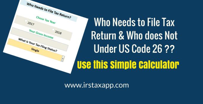 Easy Tax Calculator 2017