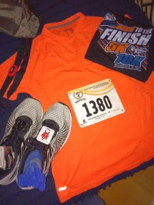 Over 40 Runner 10k racing gear Hot Springs Arkansas runner Spak10k