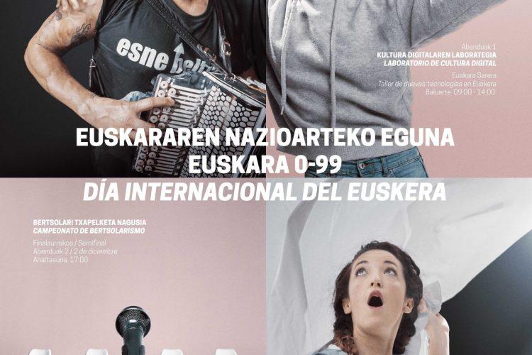 Euskararen  Nazioarteko  Eguna.  Euskara  0-99