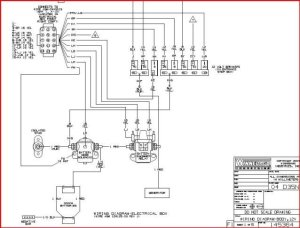 diagram on hooking up starting battery and two house