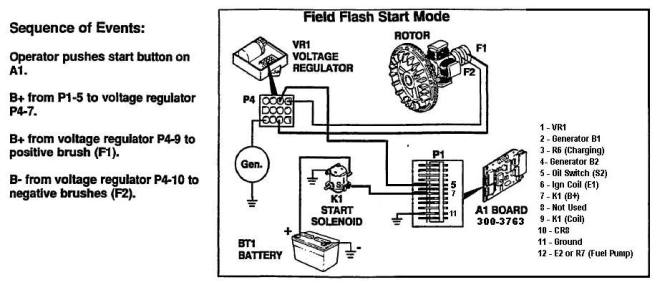 need schematic drawing of onan 3003763 circuit board  irv2