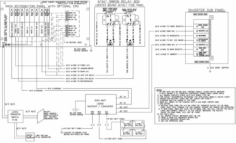electrical wiring diagrams holiday rambler trip 47