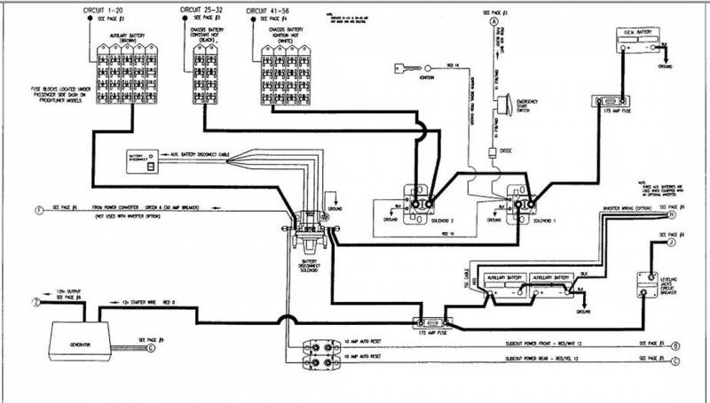 holiday rambler wiring diagram dometic thermostat wiring