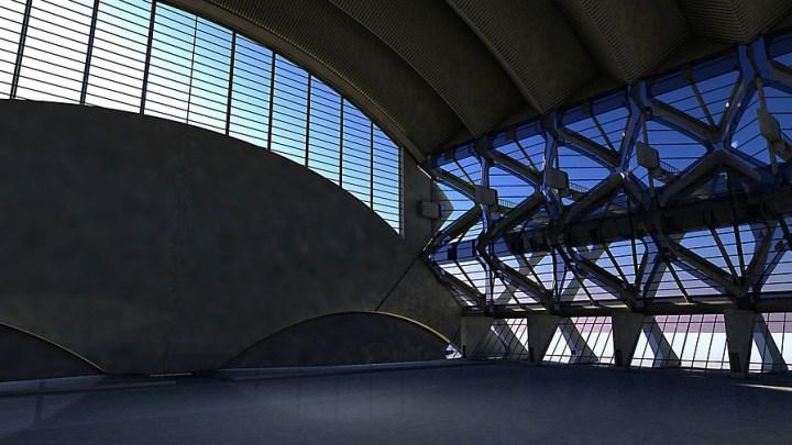 inside a building