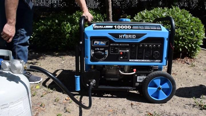 generator dual fuel