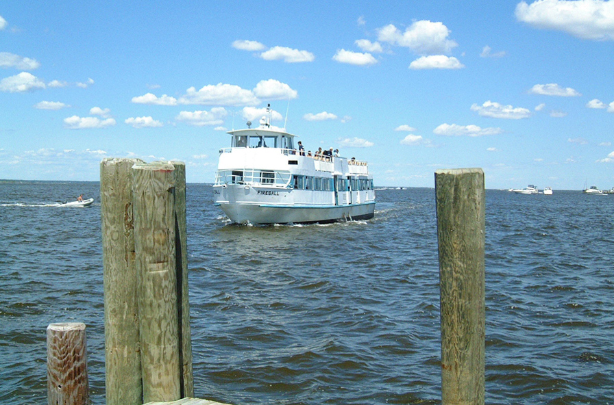 Long Island Ferry Fire Island Irvina Lew