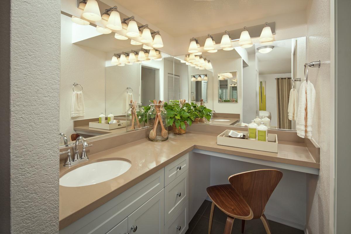 Apartment Bathroom Decorating Ideas | Irvine Company ... on Bathroom Ideas For Apartments  id=69346