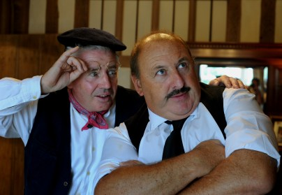 The cast of the Irving Stage Company production of Allo Allo. PICTURE: Andy Abbott