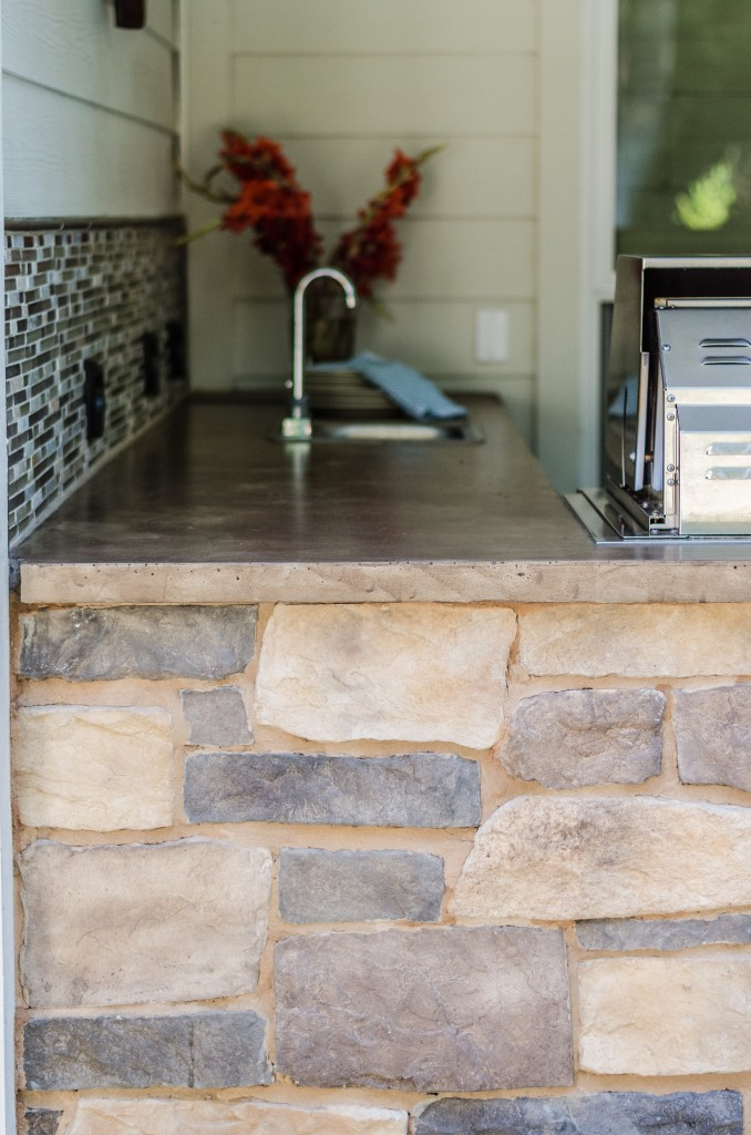 Poolside Outdoor Kitchen Before Amp After Irwin Construction