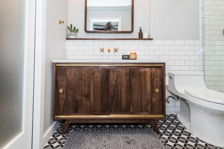 Midcentury Modern Bathroom Before Amp After Irwin Construction