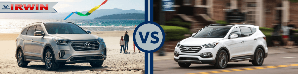How does the hyundai santa fe compare to the jeep commander? Hyundai Santa Fe Vs Santa Fe Sport