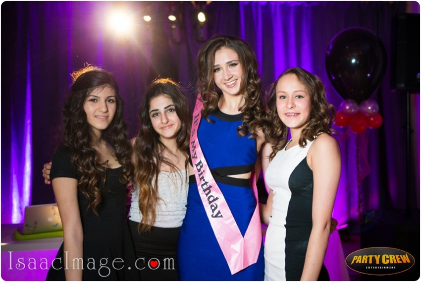 sweet sixteens party