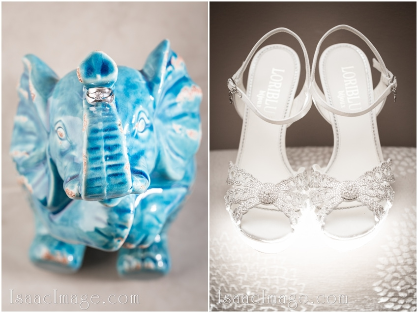 wedding rings shoes