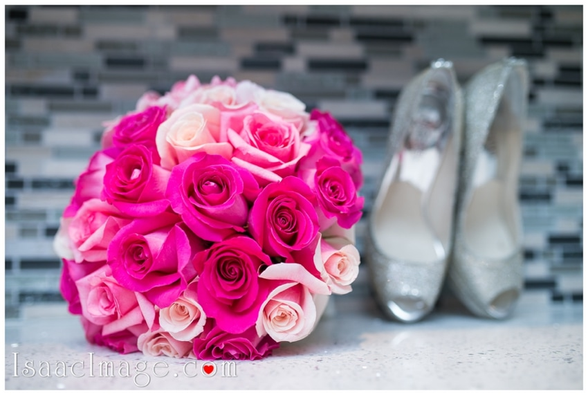 bridal bouquet shoes