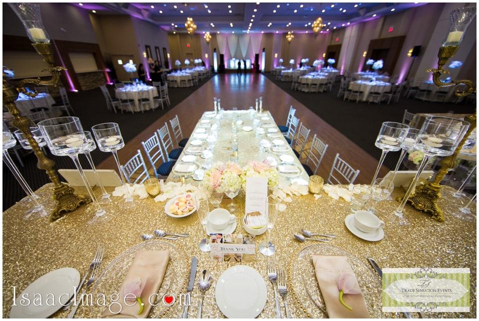 Centre table wedding