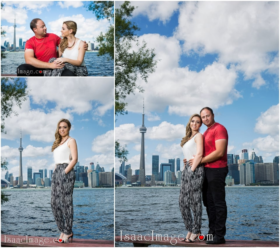 skyline toronto engagement session