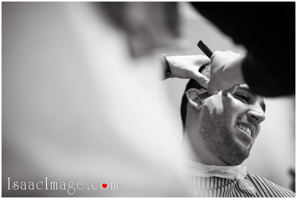Wedding shaving ritual