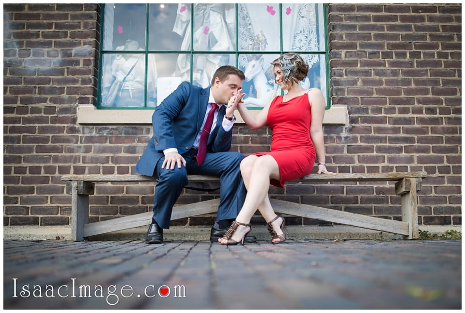 Distillery district Toronto engagement photo session Alexandra and Konstantine_0224.jpg