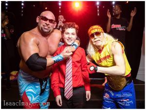 Wrestling Style Bar Mitzvah Magen Boys