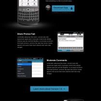WordPress Mobile Apps Websites - BlackBerry