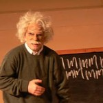 En què pensa, professor Einstein?