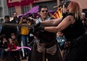 Curs Combat medieval i teatral @ Sant Pere de Vilamajor | Barcelona | Catalunya | Espanya
