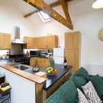 Isaacs_Byre_pet friendly holiday Cottage_Garrigill Alston kitchen living room