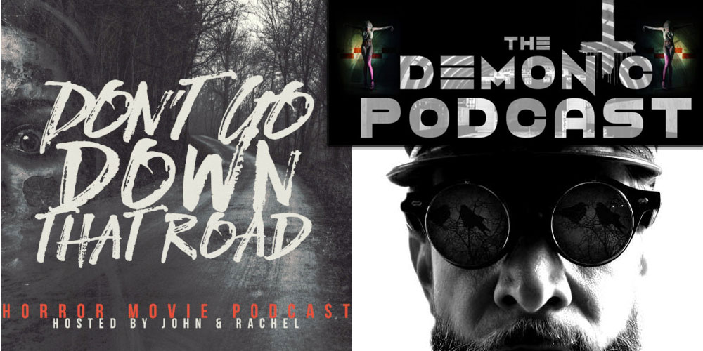 Isaac Appears on DON'T GO DOWN THAT ROAD and THE DEMONIC PODCAST