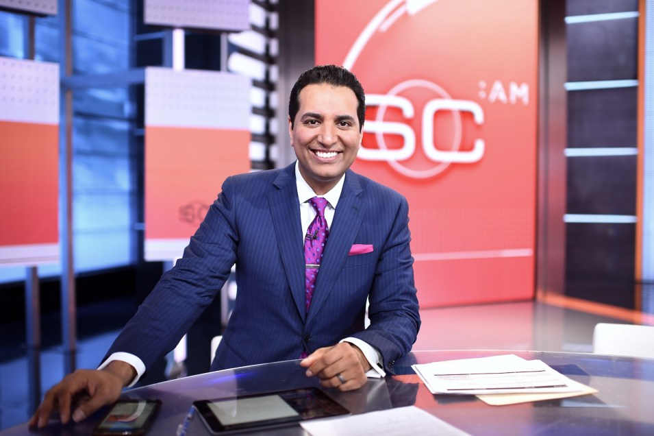 Kevin Negandhi of ESPN for ISAASE's Be Inspired Project